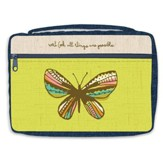 Believe In Possibilities, Butterfly Bible Cover, X-Large