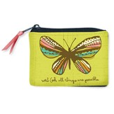 Believe In Possibilities, Butterfly Coin Purse