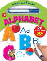 Write And Erase Board Book: Alphabet