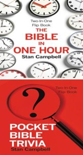 The Bible in One Hour & Pocket Bible Trivia - eBook