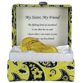 Sandal in Paisley Box, My Sister My Friend