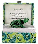 Turtle in a Paisley Box, Friendship