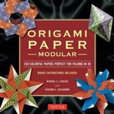 Origami Paper Modular: 350 Colorful Papers Perfect for Folding 3D
