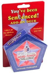 You've Been Sentenced! Add-on Deck: Reader's Digest National Word Power Challenge