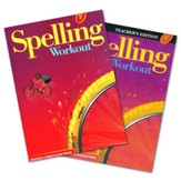 Modern Curriculum Press Spelling Workout Grade 6  Homeschool Bundle (2002 Edition)