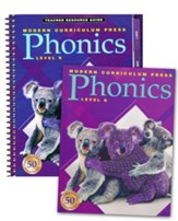 MCP Plaid Phonics 2003 Kindergarten Homeschool Bundle