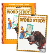 MCP Plaid Phonics Word Study Level D/Grade 4, 2003 Ed. Kit