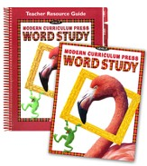 MCP Plaid Phonics Word Study Level F/Grade 6, 2003 Ed. Kit