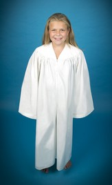 Culotte Baptismal Robe for Children, X-Small