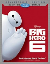 Big Hero 6, Blu-ray/DVD/Digital HD