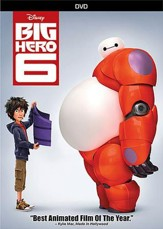 Big Hero 6, DVD