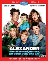 Alexander And The Terrible, No Good, Very Bad Day  BluRay/DVD