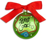Best Coach, Ornament to Personalize, Gift Boxed