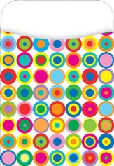 Peel & Stick! Disco Dots Library Pockets