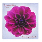 A Grandmother's Love Lives In Your Heart Tile