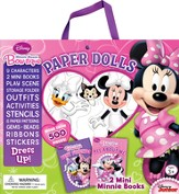Minnie Mouse Bow-Tique: Paper Dolls Kit and Mini-Books
