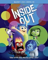 Inside Out, Blu-Ray