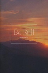 Be Still Prayer Journal