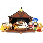Plush Nativity Play Set