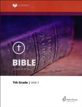 Lifepac Bible Grade 7 Unit 1: Worship