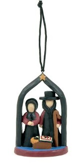 Amish Nativity Ornament