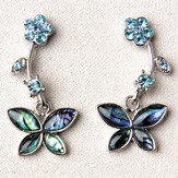 Butterfly Garden, Wild Pearle Earrings
