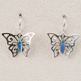 Butterfly, Wild Pearle Earrings