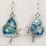 Butterfly Delight, Wild Pearle Earrings