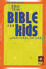 The NLT One-Year Bible for Kids, Challenge Edition