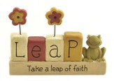 Take a Leap of Faith Figurine
