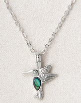 Dainty Hummingbird, Wild Pearle Necklace