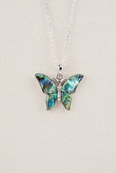 Butterfly Splendor, Wild Pearle Necklace