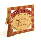 Give Thanks to the Lord for Life is Good Plaque
