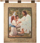Suffer the Little Children Wall Hanging