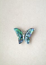 Butterfly, Wild Pearle Pin