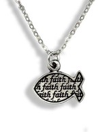 Faith Ichthus Pendant