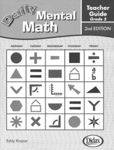 Daily Mental Math Grade 5 Teacher's Guide