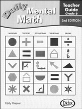 Daily Mental Math Grade 6 Teacher's Guide