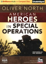 American Heroes: In Special Operations Unabridged Audiobook on CD
