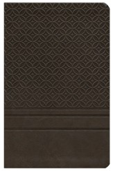 KJV Personal Size Giant Print Reference Bible, Imitation Leather, espresso-indexed