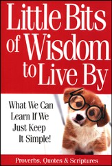 Little Bits of Wisdom to Live By Book