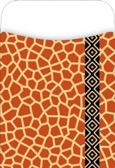 Africa - Giraffe Library Pockets