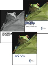 Science Shepherd Biology 3 Book Set (Textbook, Test Book, and Answer Key), 2nd Edition