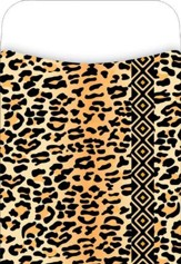 Peel & Stick! Africa - Leopard Library Pockets