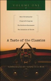 A Taste of the Classics: Mere Christianity, Pilgrim's Progress, The Brothers Karamazov & The Imitation of Christ