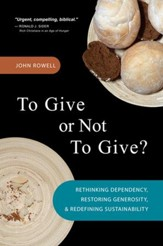 To Give or Not To Give: Rethinking Dependency, Restoring Generosity, and Redefining Sustainability