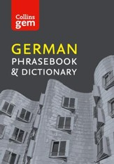 Collins Gem German Phrasebook and Dictionary (Collins Gem) - eBook