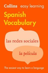 Easy Learning Spanish Vocabulary (Collins Easy Learning Spanish) - eBook