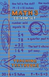Teaching Textbooks Math 3 CD-Rom Set