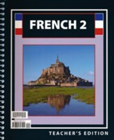 BJU French 2, Teacher's Edition